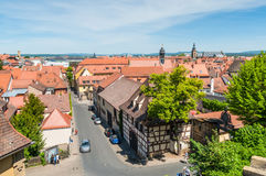 View over the old town of Bamberg Stock Image