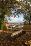 View over the old town of Boizenburg, Mecklenburg, Germany Stock Photo