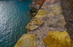 View over the old town in Budva Stock Images