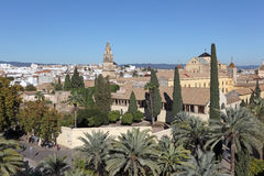 View over the old town of Cordoba Stock Images