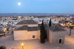 View over the old town of Lorca, Spain Royalty Free Stock Image