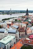 View over Old Town of Riga Royalty Free Stock Images