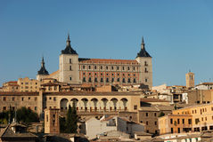 View over the old town of Toledo Royalty Free Stock Photos