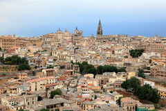 View over the old town of Toledo, Spain Royalty Free Stock Image