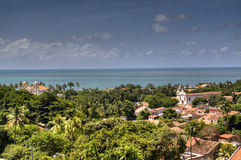 View over Olinda. View over the town of Olinda, Brazil Royalty Free Stock Photography