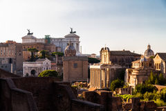 View over Palatine Hill Stock Photos