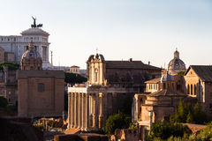 View over Palatine Hill Stock Images