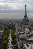 View Over Paris Stock Photography