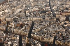 View over Paris Royalty Free Stock Photos