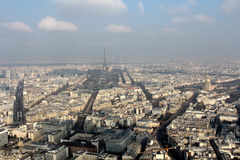 The view over Paris Stock Photos