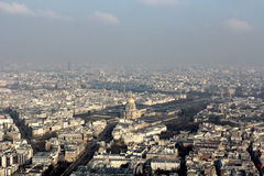 The view over Paris Stock Images