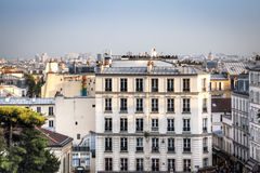 View over Paris from Montmartre Stock Image