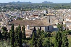 View over the Parish Church of Arta Royalty Free Stock Photos