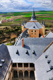 View from the Alcazer, Segovia, Spain royalty free stock photos