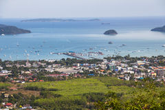 View over Phuket Royalty Free Stock Images
