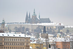 View over Prague Castle Royalty Free Stock Photo