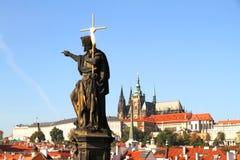 View over Prague Royalty Free Stock Photos