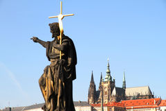 View over Prague Stock Images