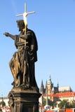 View over Prague Stock Photos