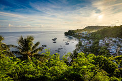 View over Pulau Run, Banda Islands, Indonesia Royalty Free Stock Photo