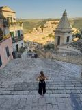 View Over Ragusa royalty free stock photography