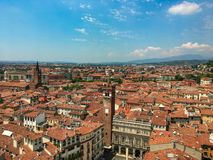 View over Verona, Italy royalty free stock photos