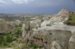 View over Red / Rose Valley, Cappadocia, Turkey Stock Image