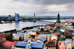 View over Riga Stock Photography