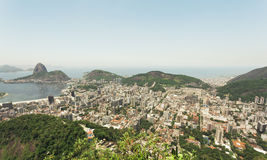 View over Rio from Corcovado Stock Image