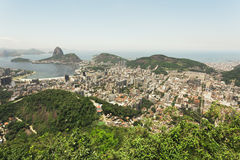 View over Rio from Corcovado Royalty Free Stock Photography