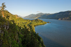 View over river gorge Royalty Free Stock Photography