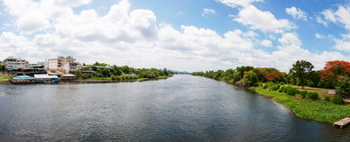 View over River Kwai Stock Images