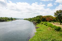 View over River Kwai Stock Photos