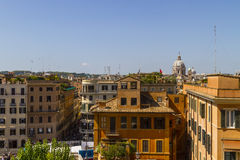 View over Rome buildings. Stock Photography