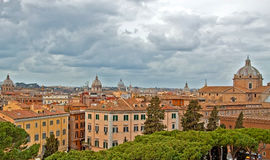 View over Rome, Italy Stock Image