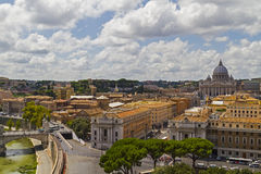 View over Rome, Italy Stock Photo