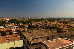 View over Rome Royalty Free Stock Image