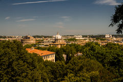 View over Rome Stock Photography