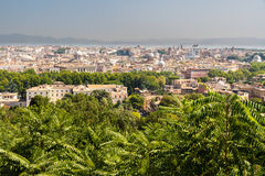 View over Rome Royalty Free Stock Photos