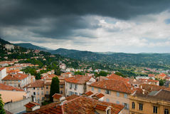 View over the roofs Royalty Free Stock Images