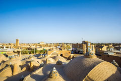 View over the roofs of kashan in iran Royalty Free Stock Photos