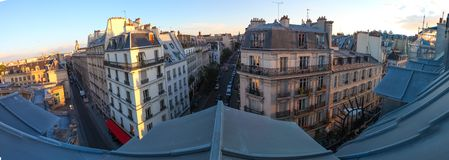 View over the roofs of Paris Royalty Free Stock Photography