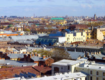 View over the roofs of  Petersburg Stock Photography
