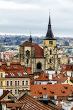 View over the roofs and towers. Of prague Royalty Free Stock Photos