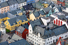 View over the rooftops Royalty Free Stock Photo