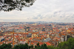 View over the rooftops of Lisbon Stock Image