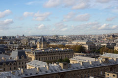 View over the rooftops of Paris Royalty Free Stock Photos