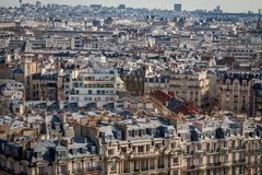 View over the rooftops of Paris Royalty Free Stock Photo