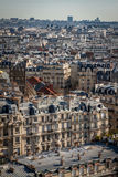 View over the rooftops of Paris Stock Photography