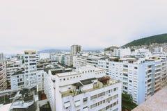 View over rooftops in Rio De Janero Stock Image